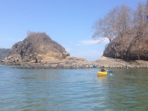 Kayaking in Curu Wildlife Refuge